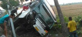 Bus Sinar Jaya Kecelakaan di Pantura Pemalang