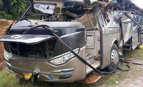 Bus Rombongan Pelajar Masuk Jurang, Satu Pelajar Tewas