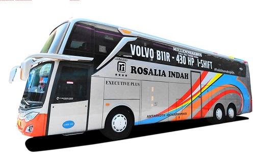 Jadwal Lengkap Bus Semarang Jakarta PO Rosalia Indah