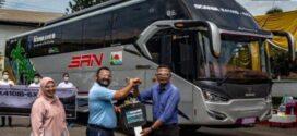 Bus SAN Tambah 8 Bus Mewah Jurusan Blitas – Pasir Pangaraian Sumatera